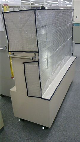 透明機械カバー